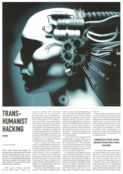 AD 2015 Transhumanist Hacking